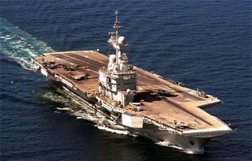 Tàu sân bay Charles de Gaulle của Hải quân Pháp. Ảnh: Naval Today.