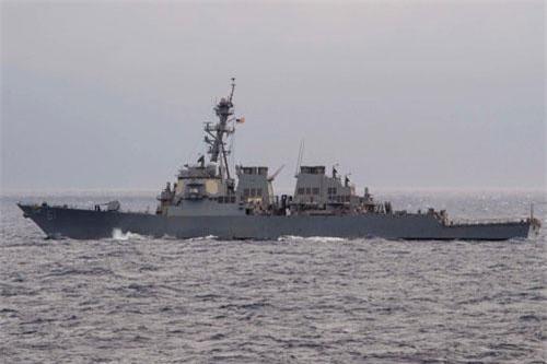 Sau 36 năm, một khu trục hạm của Mỹ cuối cùng cũng đến thăm Beirut - một quốc gia nhỏ bé nằm giáp biên giới với Syria ở Địa Trung Hải. Nguồn ảnh: Usmil.