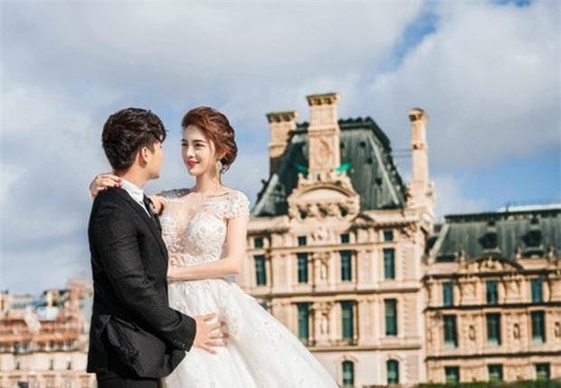 Rich kid Giang Lê tung bộ ảnh cưới đẹp tựa tranh vẽ nhưng danh tính chú rể mới thực sự bất ngờ - Ảnh 2