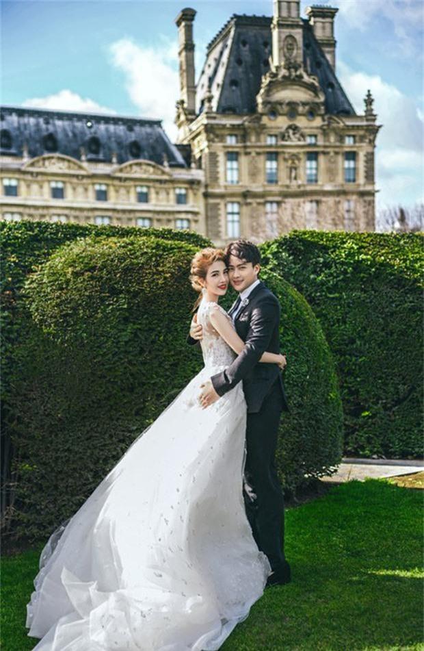 Rich kid Giang Lê tung bộ ảnh cưới đẹp tựa tranh vẽ nhưng danh tính chú rể mới thực sự bất ngờ - Ảnh 8
