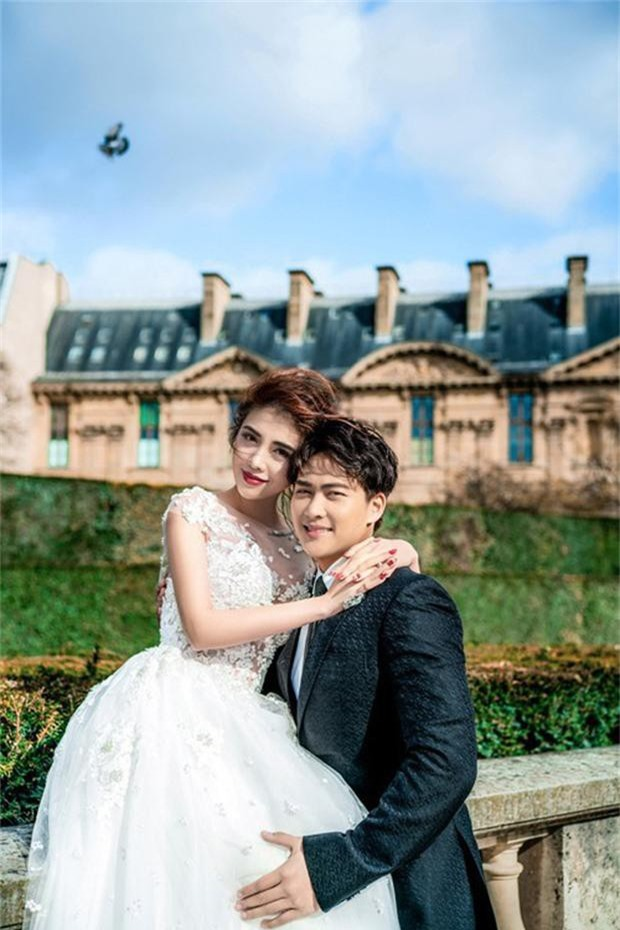 Rich kid Giang Lê tung bộ ảnh cưới đẹp tựa tranh vẽ nhưng danh tính chú rể mới thực sự bất ngờ - Ảnh 9