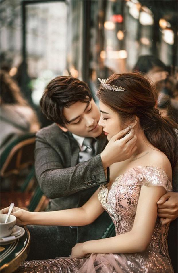 Rich kid Giang Lê tung bộ ảnh cưới đẹp tựa tranh vẽ nhưng danh tính chú rể mới thực sự bất ngờ - Ảnh 10