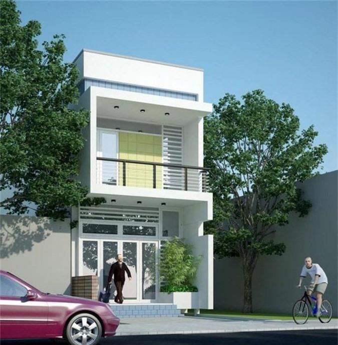 Mẫu nhà phố 2 tầng tuyệt đẹp cho khu đất mặt tiền hẹp - ảnh 3