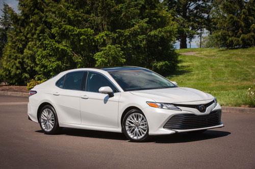 Top 10 ôtô bán chạy nhất tại Mỹ: Toyota Camry góp mặt