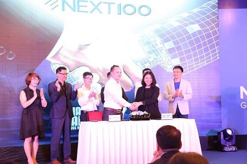 Lễ ký kết hợp tác giữa chương trình Shark Tank Việt Nam mùa thứ 3 và NextTech Group.