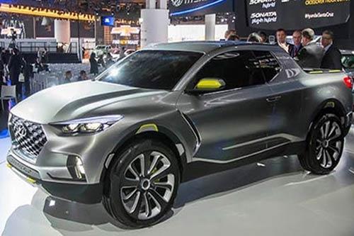 Hyundai Santa Cruz thiết kế siêu đẹp, giá rẻ 'đấu' Ford Ranger Raptor
