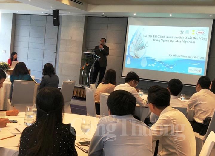 Theo ông Trương Văn Cẩm, EVFTA đánh đúng vào khâu yếu của DN dệt may Việt Nam. (Ảnh: TBTCO)