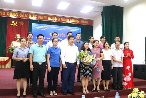 21 người được tham gia tập huấn để trở thành các cố vấn/huấn luyện viên trong hệ sinh thái của tỉnh Phú Thọ đã ra mắt cử tọa.