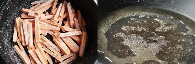 Khoai lang chiên tẩm mè - món ăn vặt đã ngon còn tốt đủ đường - Ảnh 3.