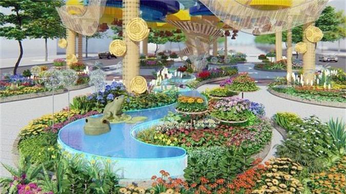 Nhiều tạo hình độc đáo ở đường hoa Nguyễn Huệ Tết Canh Tý 2020 - Ảnh 4.