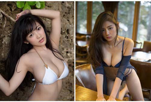 """Top 7 cô nàng sở hữu """"tòa núi đôi"""" đẹp nhất Nhật Bản, nhìn thôi là đã khiến người xem muốn đau lưng đau mắt"""