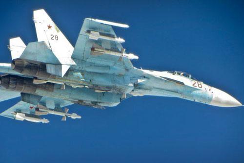 Loại chiến đấu cơ được xem là đã thay đổi hoàn toàn cách thức chiến tranh trong thế kỷ 21 là chiếc tiêm kích Su-27 Flanker. Nguồn ảnh: BI.