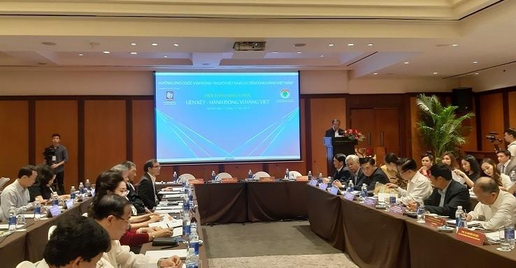 Chủ tịch VINASME: Rất cần giải pháp, ý tưởng đẩy mạnh liên kết - hành động vì hàng Việt
