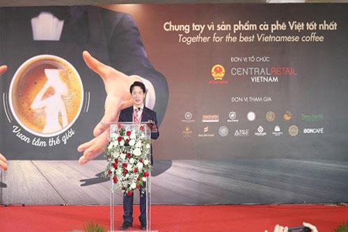 Ông Tạ Hoàng Linh, Vụ trưởng Vụ Thị trường Âu-Mỹ, Bộ Công Thương phát biểu tại Cuộc thi - Ảnh: VGP/Lê Anh