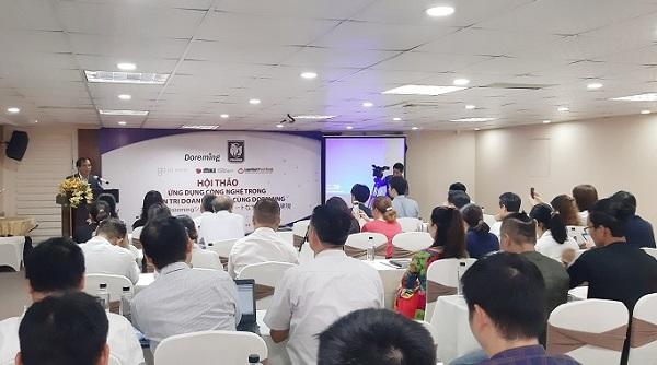 Hội thảo thu hút sự tham gia của nhiều doanh nghiệp.