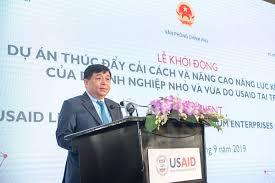Bộ trưởng Bộ Kế hoạch & Đầu tư Nguyễn Chí Dũng.