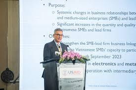 Đại sứ Hoa Kỳ tại Việt Nam Daniel J.Kritenbrink.