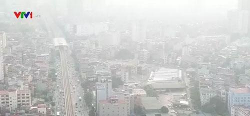 Hà Nội: Không khí ô nhiễm ở mức có hại cho sức khỏe