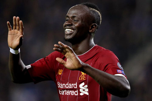 5. Sadio Mane (Liverpool, ĐT Senegal).