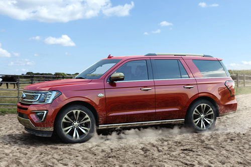 6. Ford Expedition 2020.