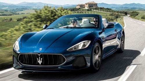 Maserati GrandTurismo Sport.
