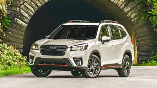 Subaru Forester ES.
