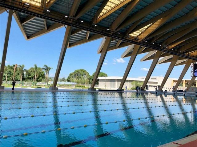 ẢNH: Chiêm ngưỡng khu thể thao phức hợp hiện đại của SEA Games 30 - Ảnh 7.