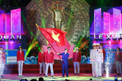 Lễ xuất quân của Đoàn thể thao Việt Nam