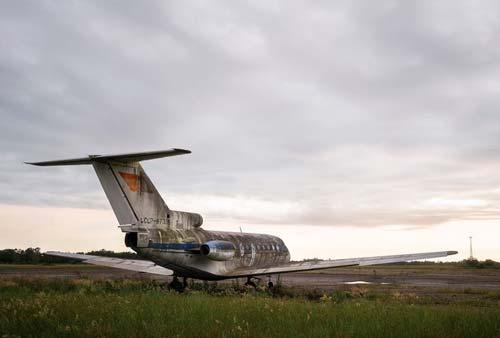 Ám ảnh sân bay 'ma' hoang vắng suốt 25 năm sau cuộc chiến Gruzia