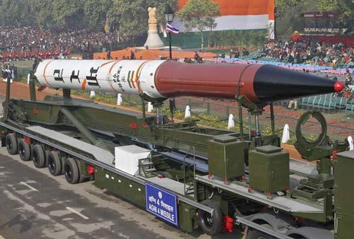 Tên lửa Agni-4.