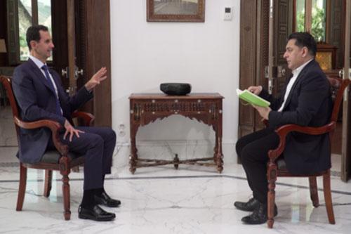 Tổng thống Syria Bashar al-Assad trả lời phỏng vấn RT