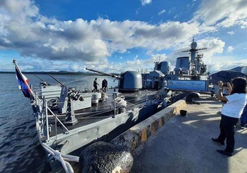Hải quân Philippines lựa chọn phương án lắp súng máy M2HB cỡ 12,7 mm cho chiến hạm lớp Pohang.