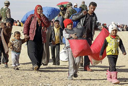 Hàng ngàn người tị nạn Syria trở về nước, chiến sự Syria sắp chấm dứt?