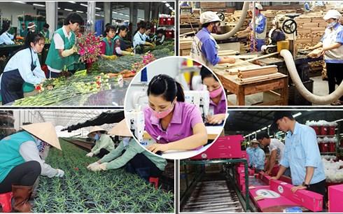 """Thành tựu của Việt Nam sau hơn 30 năm đổi mới và thị trường lớn đầy tiềm năng được cho là """"nam châm"""" thu hút sự chú ý của các thành viên tham gia CPTPP. (Ảnh minh họa)"""