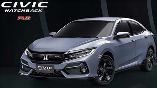 Honda Civic RS 2020 thiết kế tuyệt đẹp, giá 942 triệu đồng 'đấu' Mazda 3
