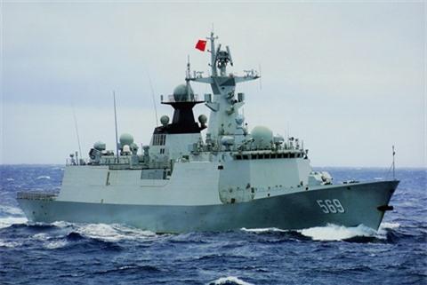Trung Quoc nang cap 'dua con bi hat hui' Type 054