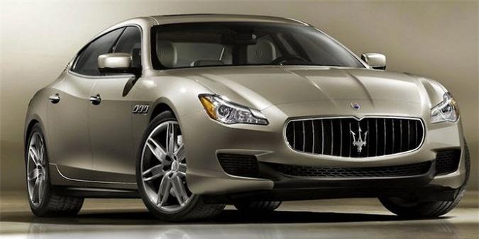 Maserati Quattroporte,