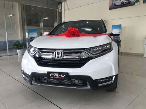Giá Honda CR-V 2019 giảm gần 100 triệu đồng, cạnh tranh Mazda CX-5