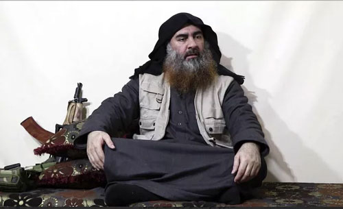 Thủ lĩnh tối cao IS Abu Bakr al-Baghdadi. (Ảnh: AP)