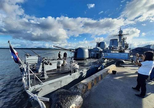 Hải quân Philippines lựa chọn phương án lắp súng máy M2HB cỡ 12,7 mm cho chiến hạm lớp Pohang