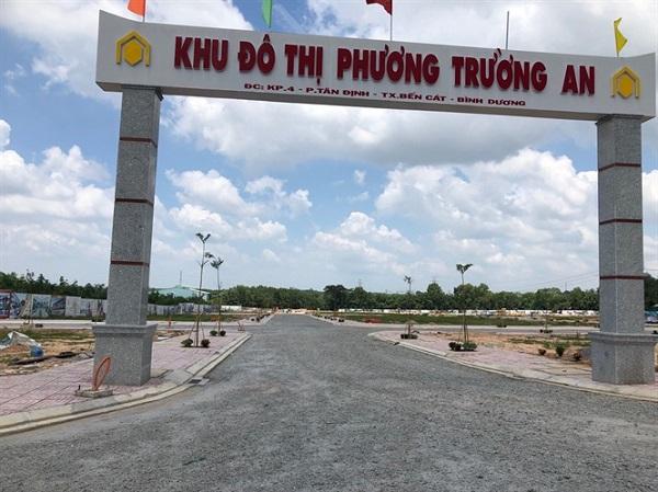Dự án Phương Trường An cơ sở hạ tầng vẫn chưa hoàn thiện, chưa được sở Xây dựng cho phép giao dịch, bán.