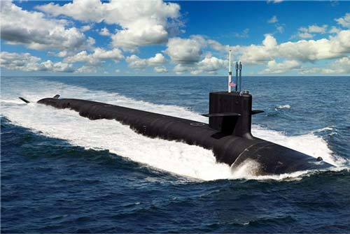 Mỹ đóng tàu ngầm hạt nhân mới từ cuối năm 2020