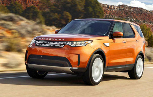 Land Rover Discovery HSE.