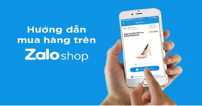 Zalo Shop cung cấp hoạt động thương mại điện tử khi chưa đăng ký với Bộ Công Thương.