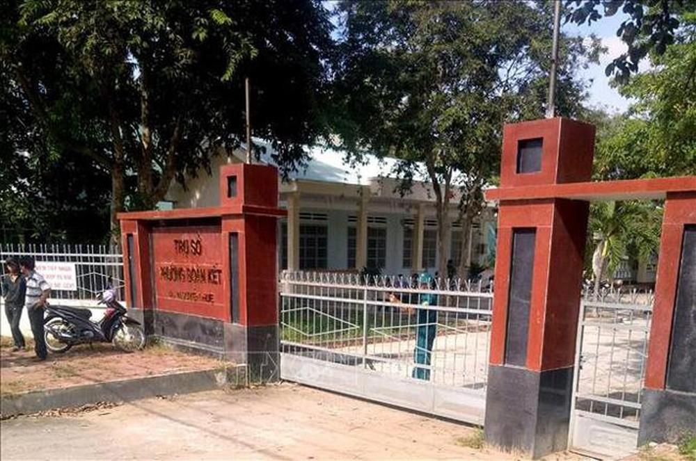 Trụ sở phường Đoàn Kết, nơi Bùi Chí Hiếu dùng súng trường Garand bắn tử thương Phó Chủ tịch HĐND phường, rồi tự sát bất thành (ảnh TL)