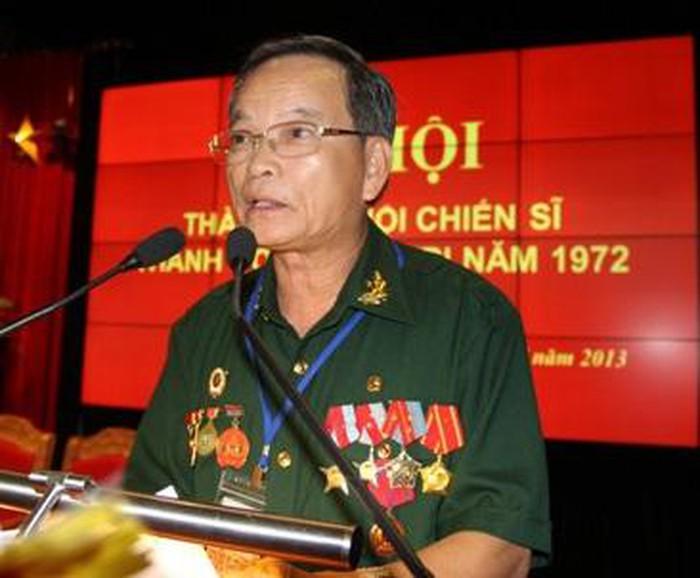 Ông Lê Xuân Tánh bị phát hiện không phải là sĩ quan Quân đội nhân dân VN, phát biểu tại Đại hội thành lập Hội CSTCQT 1972 nhiệm kỳ 2013 – 2018 ngày 19/7/2013.