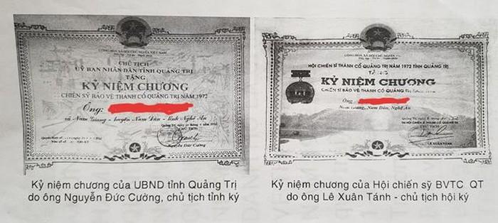 Ông Lê Xuân Tách đã lợi dụng việc tặng Kỷ niệm chương để mở rộng quan hệ với các cấp lãnh đạo.