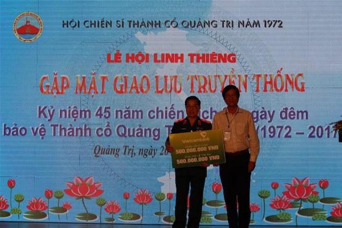 Nhiều tổ chức, cá nhân đã tin tưởng ủng hộ tài chính cho hội của ông Lê Xuân Tánh.