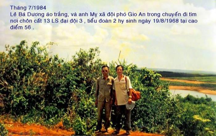 CCB Lê Bá Dương (áo trắng) người nắm giữ nhiều chứng cứ tố giác Lê Xuân Tánh và đồng phạm tổ chức lừa đảo.
