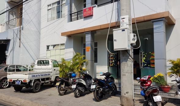 Trụ sở CA thị trấn Dương Đông, huyện Phú Quốc.